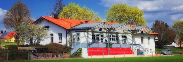 Das Vereinsheim des FC Lengdorf